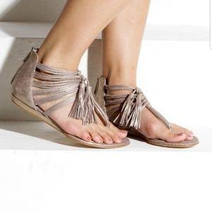 Dolce Vita DV Ilana gladiator sandal Metallic Sz 6